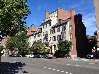 Photo for Historic Townhouse Condo in the center of Boston, across from the Public Garden