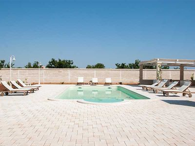 Photo for Nearco - apartment in Apulian masseria with pool