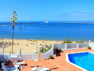 Photo for sunny apartment for 2-6 persons, exclusive location directly on the sandy beach 1a and sea