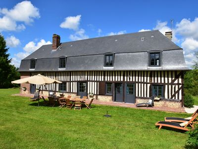 Photo for Normandic cottages, Deauville at 30km, Abbeys, coast
