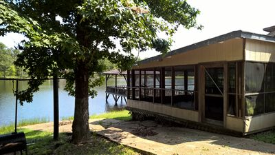Please Make Our Lakefront Cabin Your Piece of Paradise Away from Home.