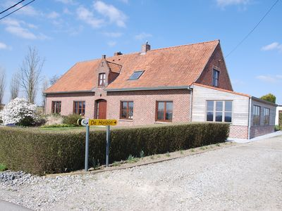 Photo for Cozy cottage near Ypres, the West Flemish hills and Poperinge.