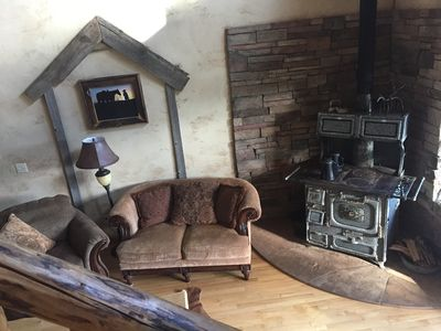 Photo for Exquisite Ranch House - 7 BDR Log Home - sleeps 24 in beds