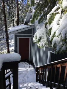 Photo for Snow is here! Real mountain feeling in Blue Lake Springs
