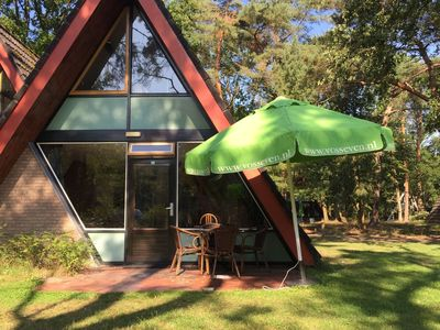 Photo for Modernised villa on small nature-filled holiday park