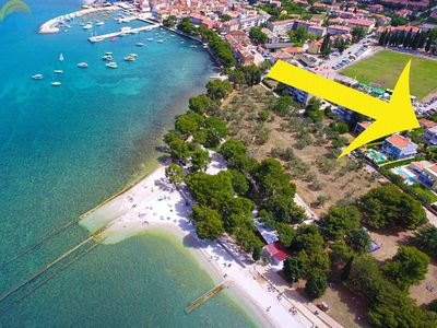 Photo for Apartment 2009/28489 (Istria - Fažana), Beach front accommodation, 70m from the beach