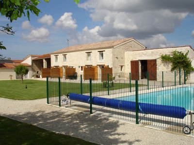 Photo for Apartments (Bed pool) near La Rochelle