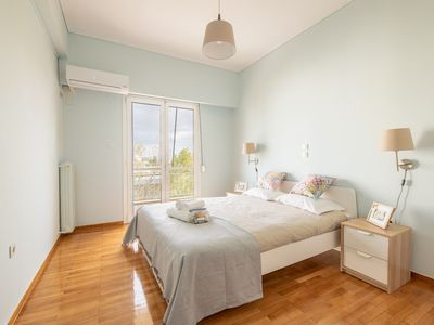 Photo for 1BR Apartment Vacation Rental in Marousi