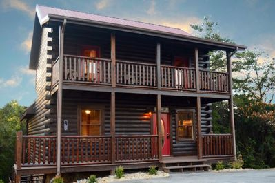Leconte Waters September Special 15 25 Luxury Cabin Indoor Pool Hot Tub Wifi 3 King Suites Sevierville