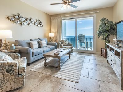 Photo for BeachFRONT☼GulfFront Pool☼2Step Sanitizing Process☼2BR+Bunks Sterling Breeze 802