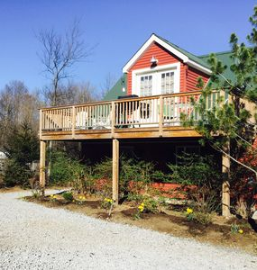 Photo for Private Getaway with Amazing Mountain Views! Great for couples, writers, friends