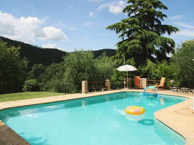 Photo for Apartment with private pool, 3 bedrooms and 2 bathrooms, surrounded by greenery