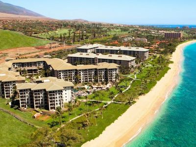 Photo for Beautiful Ocean Front Studio Villa at Westin Ka'anapali Ocean Resort