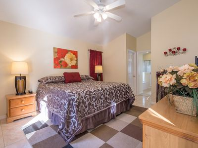 Photo for LOCATION! 4 BR, Private SF Pool with Conservation View, Games Room, WiFi, BBQ, close to Disney