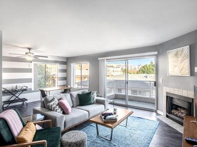 Photo for Stunning Hollywood 1BR w/ Balcony, W/D + Pool by Blueground