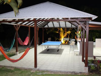 Photo for Bungalows 1 and 2: Luxury bungalows with swimming pool in St-François