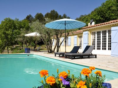 Photo for fantastically located detached villa with private pool for 8 people.