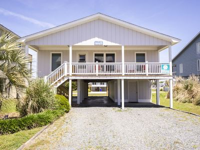 Photo for Shorebird: 4 Bed/2 Bath Ocean View House with Marsh Views from Back Deck