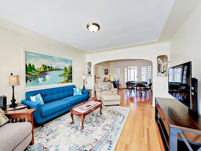 Living Area - Welcome to San Diego! This stylish Spanish-style home is professionally managed by TurnKey Vacation Rentals.