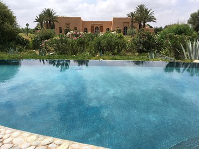 Photo for LUXURY RIAD IN THE MIDDLE OF A LARGE FLOWERED PROPERTY SPORTED IN FRONT OF THE ATLAS