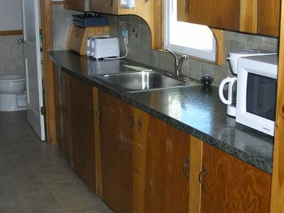 Kitchen Counter & appliances