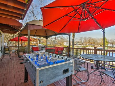 Photo for Home w/Kayaks, Deck, & Dock on Lake of the Ozarks!