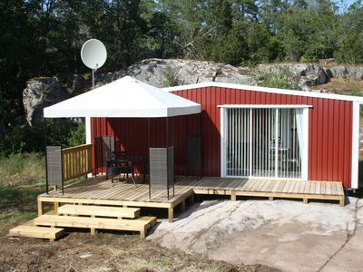 Photo for Holiday house directly on the Baltic Sea in Smaland ideal for fishing, climbing + relaxing