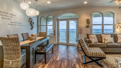 Photo for GULF FRONT! Community Pool! Amazing Sunset Views! 3 Beds/3 Baths +Bunkroom