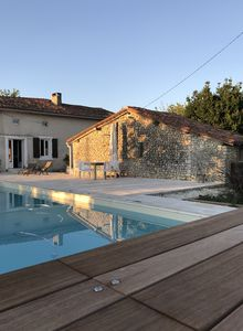 Photo for Stone property with salted pool , 4 bedrooms , 3 showers, sleeps 9