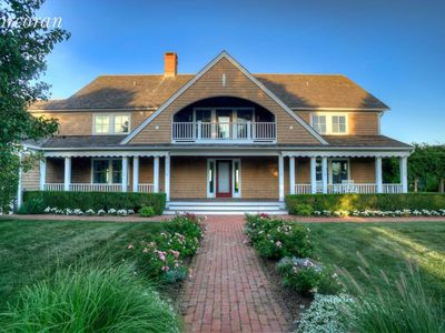 Photo for custom built traditional home, newly decorated with clean, elegant modern look