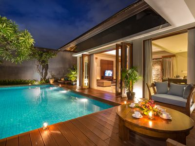 Photo for Modern Spacious 2 BR Villa Seminyak ENTR