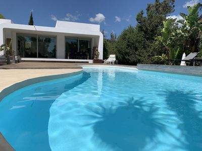 Photo for Beautiful Villa Porroig with Pool, Wi-Fi, Air Conditioning and Mountain View; Parking Available, Pets Allowed