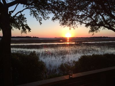 Photo for Spectacular Sunsets on the Water, Completely Updated with Designer Furnishings!