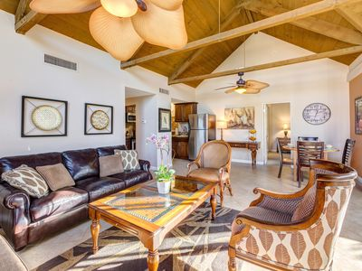 Photo for Spacious Condo with Dramatic Mountain Views in Gated Community - The Fairway!