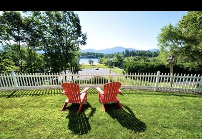 Yard with View of Lake George