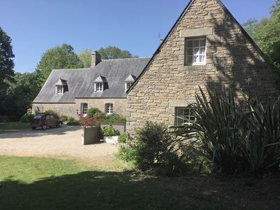 Photo for A large house for 6 to 8 people in a wooded park of 9000M2