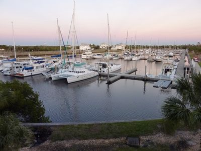 Beautiful Marina waterside property at Little Harbor Beach Resort, Tampa bay, Fl