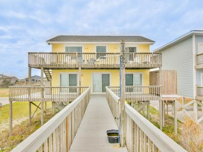 Photo for No Way Out - Superb Oceanfront View, Relaxing Interior, Near Shops & Restaurants