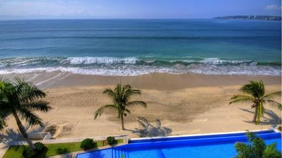 Photo for Gorgeous Oceanfront Luxury Condo in the Heart of Bucerias!