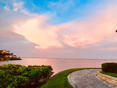 Photo for Ground level beautiful water front condo