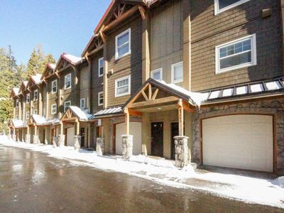 Photo for Dog-friendly, upscale condo w/ shared pool & hot tub - one mile from skiing