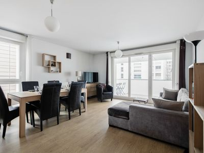 Photo for Large and calm flat with balcony at the heart of Grenoble - Welkeys