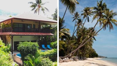 Photo for Beach front Resort - Villa With Private Pool At 40 Meters From The Beach