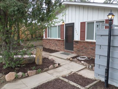 Photo for 1)  we accept monthly rentals in our lovely  2 BR/1 bath Cheyenne Canyon Getaway