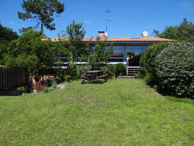 Photo for Villa 150 m² Arcachon neighborhood Abatilles, Péreire beach walk, 9/13 pers.