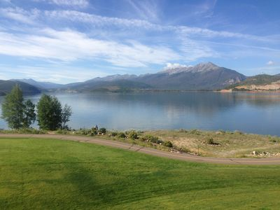 Photo for Luxurious Lakefront-Spectacular Mountain Views & Nearby Skiing, Smoke & Pet Free