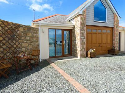 Photo for THE BOATHOUSE, romantic, with a garden in Mullion, Ref 925595