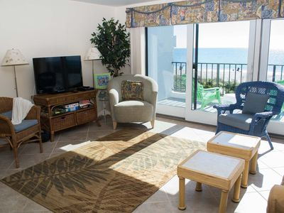 Photo for 3BR Oceanfront Condo!  Great views of waves and sunsets!!