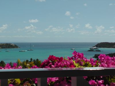 Fabulous Sea and Harbor Views and on a clear morning You can see Guadaloupe