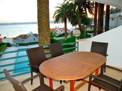 Photo for Palm Tree - Sea view 3 bedroom apartment (sleeps 10) in Sao Martinho